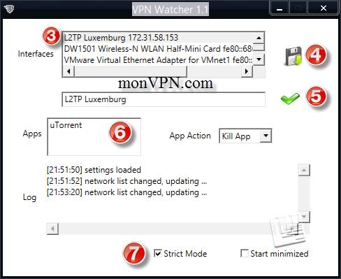 deconnexion automatique utorrent VPN
