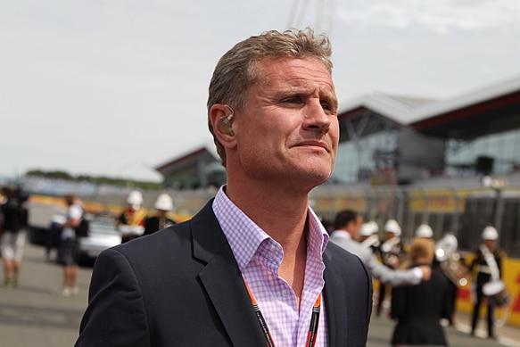 David Coulthard présentateur sur Channel 4