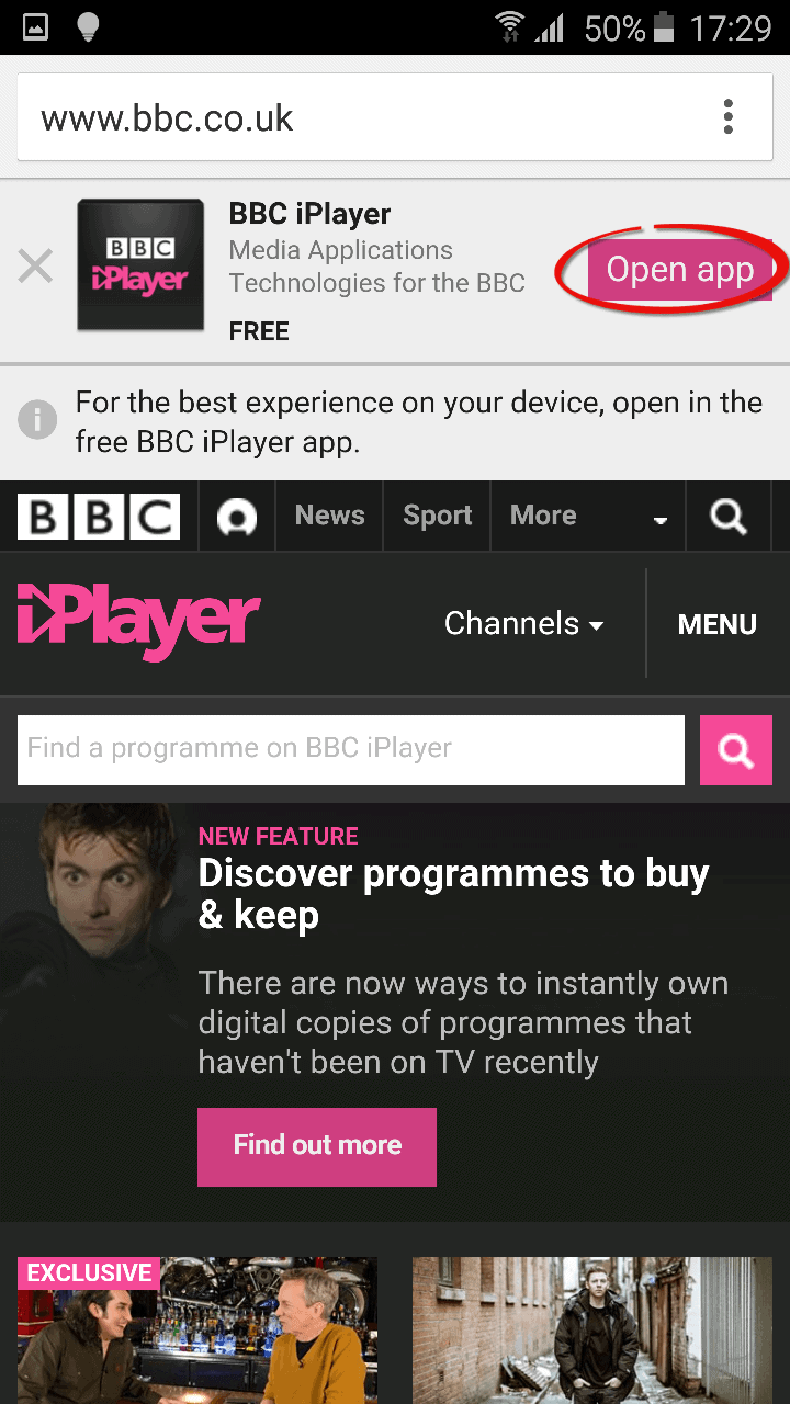 installation bbc iplayer en France