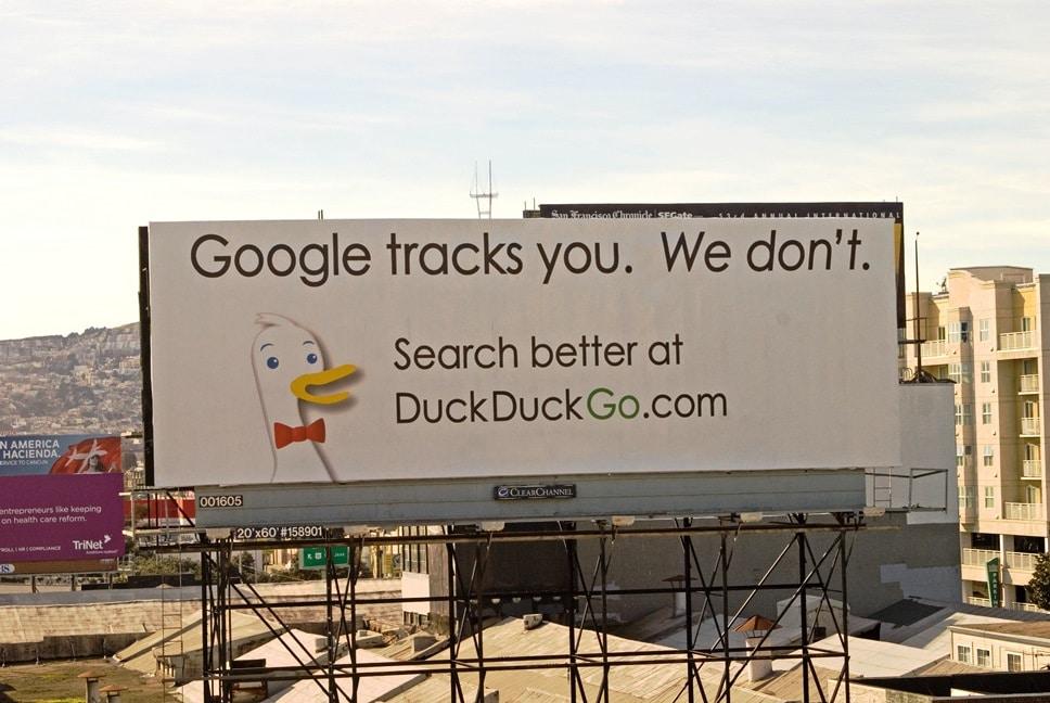 DuckDuckGo Recherche anonyme sur internet