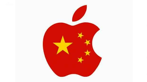 apple services bloques en chines