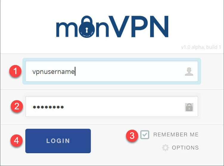 installation monVPN Connect 2