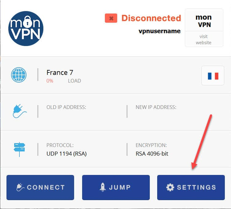 Install monVPN Connect for Mac OS 3