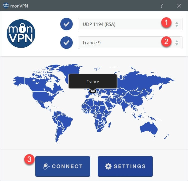 vpn client pour windows