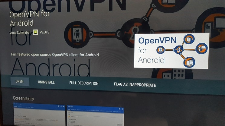 smart android tv vpn