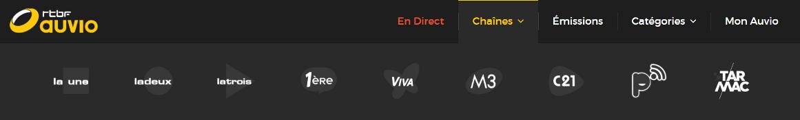 regarder les televisions belges a l'etranger