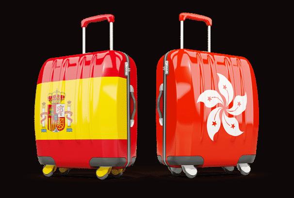 serveurs VPN en Espagne et Hong Kong