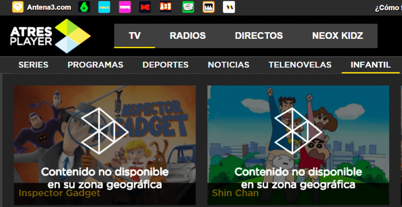 Watch Spanish TV online