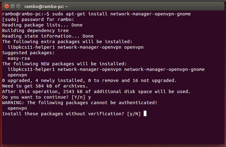 ubuntu openvpn install